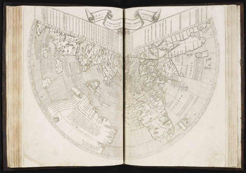 <em>In hoc opere haec continentur Geographiae Cl. Ptolemaei a plurimis uiris utriusq[ue] linguae doctiss eme[n]data</em>