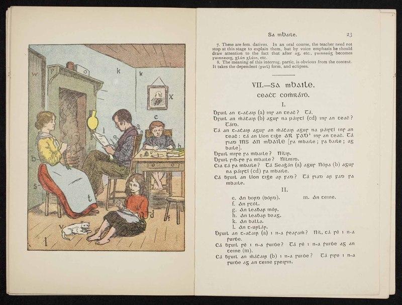 <em>An Sgoil: A Direct Method Course in Irish</em>
