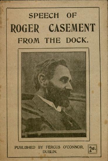 <em>Speech of Roger Casement from the Dock</em>