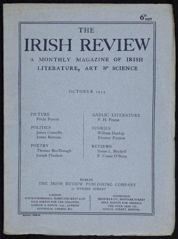 <em>The Irish Review</em>, 3, no. 32