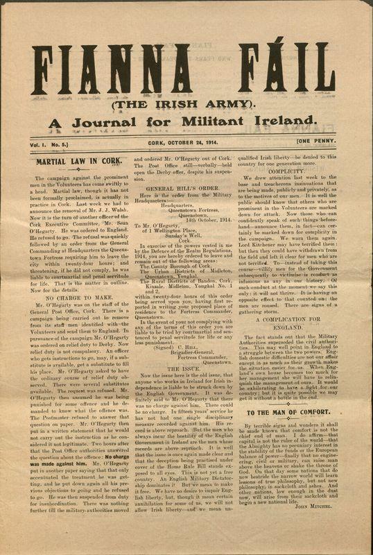 <em>Fianna Fáil: A Journal of Militant Ireland<em>,</em> </em>No. 5