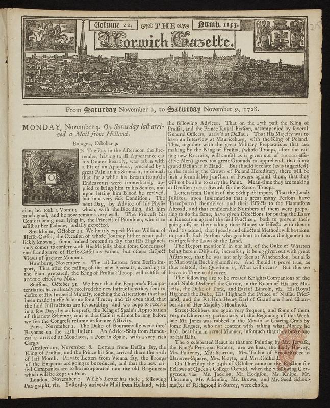 <em>Norwich Gazette</em>