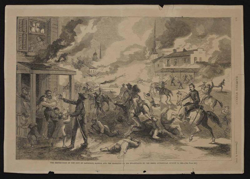 Destruction of Lawrence