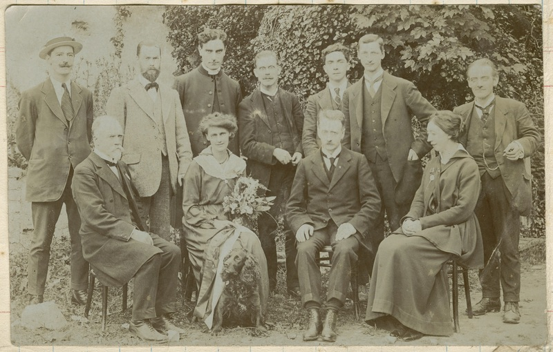 Photo Taken at Reception Given to Countess after Release