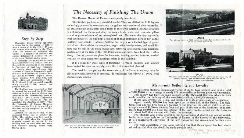 The Kansas Memorial Union