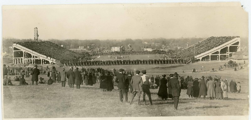 KU (15) - Missouri (9) game, 1921