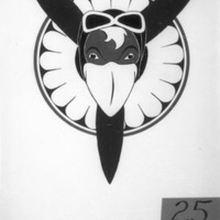 Jayhawk Propeller Logo Entry for Jayhawk Flying Club Logo Contest, February 1945