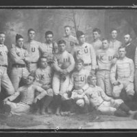 KU team photo, 1891.