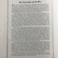 The University and the War from 1970 Jayhawker