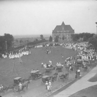 "<div style=""text-align:left;""> 1908 May Fete</div>"