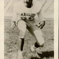 Michael G. Shinn, Defensive End, circa 1962.