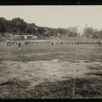 Football practice, 1930