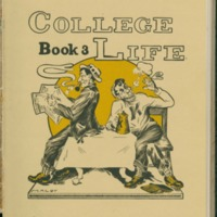 """College Life,"" by Hank Maloy, on the Book 3 page from the 1911 <em>Jayhawker</em> <em>Yearbook</em>"
