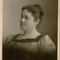 Librarian Carrie Watson.