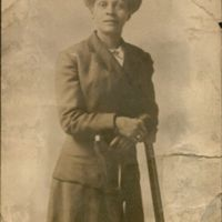 Mrs. Betty Mitchell, Michael's maternal grandmother, ca. 1910s.