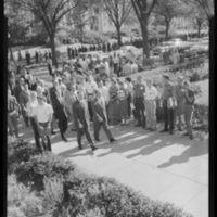 Chancellor Wescoe's Inauguration Procession.