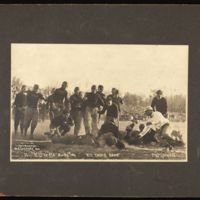 1910 Kansas plays Missouri