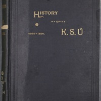 Quarter-Centennial History of the University of Kansas 1866-1891