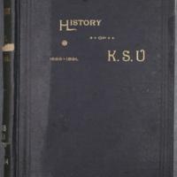 Quarter-Centennial History of the University of Kansas 1866-1891