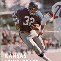 1970 KU Homecoming Football Game Program