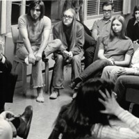 Chancellor Chalmers with Western Civ class 1970/71