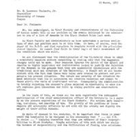 Black Faculty and Administrators Letter to Chancellor Chalmers