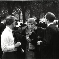 Students at 1971 Commencement