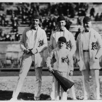 KU Cheerleaders, 1922-23