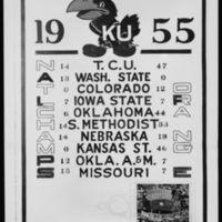 1955 season schedule
