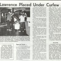 "Article from the ""Union Burns"" Special Issue of the Alumni Magazine, May 16, 1970"