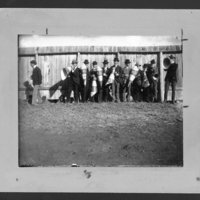 Cheering at McCook Field, 1899.
