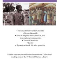 Genocide Exhibit Poster