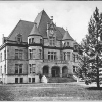 Physics building (Blake Hall), opened in 1895.
