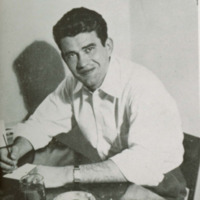 <p>Photograph of Yogi Williams, 1947 Jayhawker<em> Yearbook</em></p>