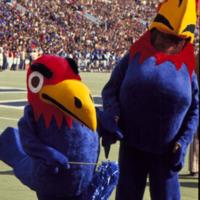 Baby Jay and Big Jay During Homecoming Halftime, November 9, 1971