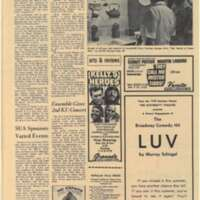 UDK Sept 3 1970 Productions Slated for Theatre Season