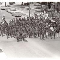 Dowdell Funeral Procession through Lawrence