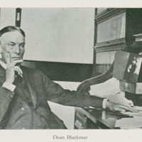 A brief history of the Graduate School by Dean F. W. Blackmar,  <em>Jayhawker Yearbook</em>, 1916