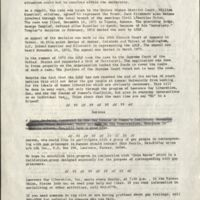 First issue of Up Front the official newsletter of the Lawrence Gay Liberation Front, 1973 pg. 2