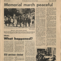 Front page of the July 24 1970 issue of the University Daily Kansan