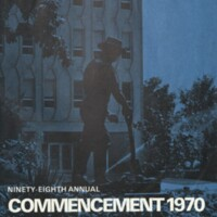 1970 Commencement Program Pages 1-15