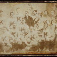 KU's first football team, 1890.