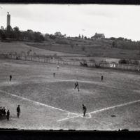 Baseball game at McCook Field