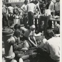 Students prepare for Strike Day, April  1970