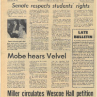 "UDK Article ""Senate respects students' rights"" from March 5, 1970 issue"
