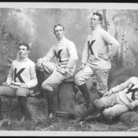 Four players, 1892.