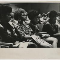 Students at an Assembly During the Day of Alternatives.