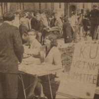 The KU Vietnam Committee in 1966