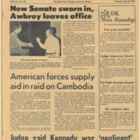 UDK April 30 1970 Front Page