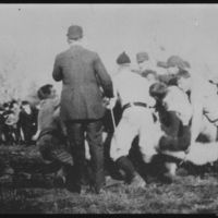 KU's first football game against Baker on Dec. 8, 1890.